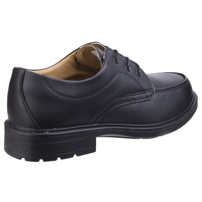 Black - Pack Shot - Amblers Steel FS65 Safety Gibson - Mens Shoes - Safety Shoes