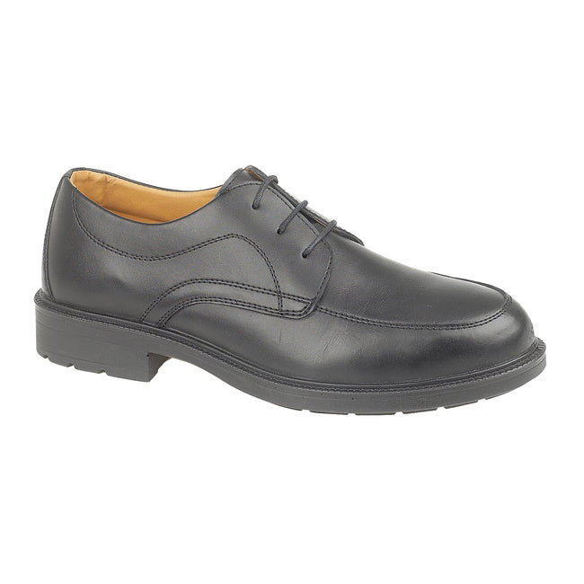 Black - Front - Amblers Steel FS65 Safety Gibson - Mens Shoes - Safety Shoes