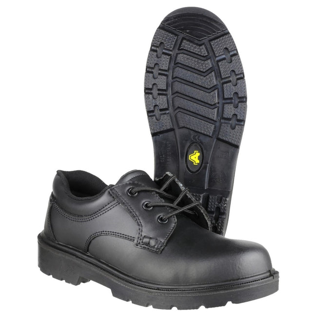 Black - Side - Amblers Steel FS41 Safety Gibson - Mens Shoes