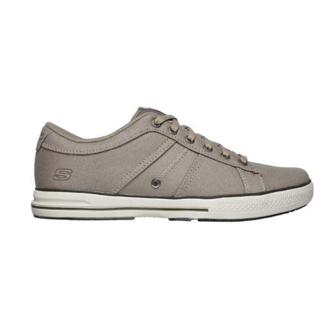 Taupe - Back - Skechers Mens Arcade Fulrow Trainer