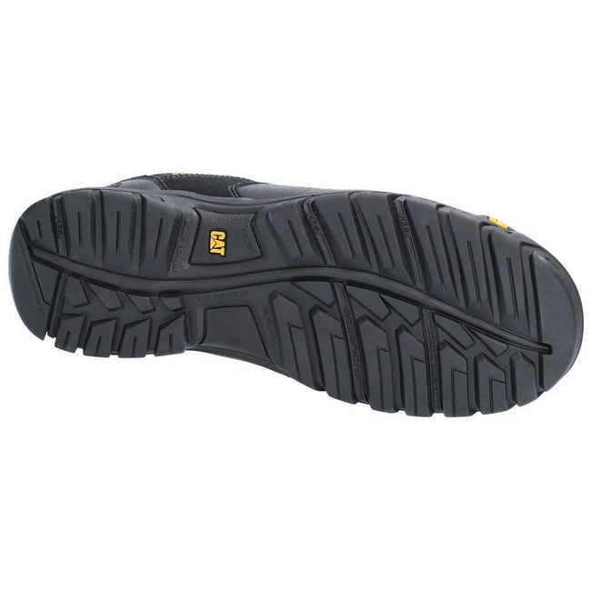 Black - Lifestyle - Caterpillar Mens Extension Lace Up Safety Shoe