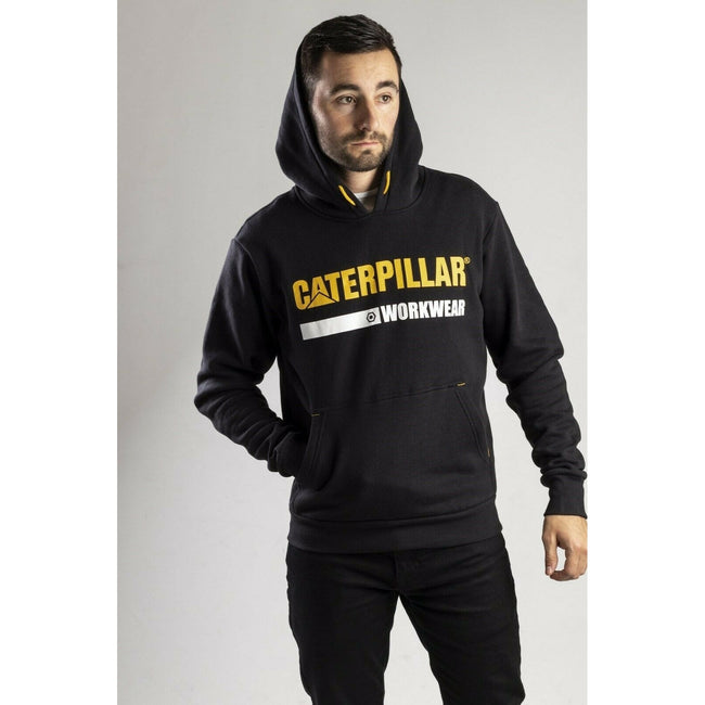 Black - Back - Caterpillar Essentials Unisex Hoodie