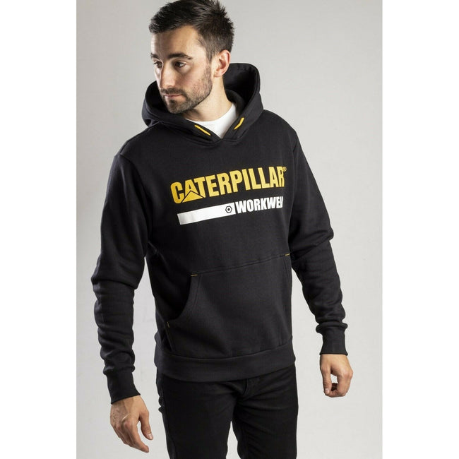 Black - Side - Caterpillar Essentials Unisex Hoodie