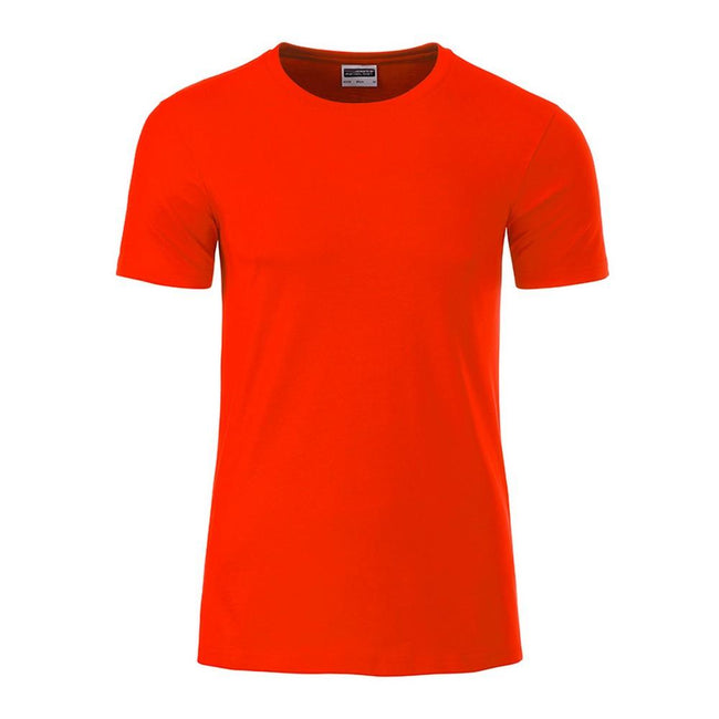 Grenadine - Front - James and Nicholson Mens Basic T-Shirt