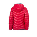 Red-Navy - Back - James and Nicholson Womens-Ladies Down Jacket