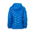 Blue-Silver - Back - James and Nicholson Womens-Ladies Down Jacket