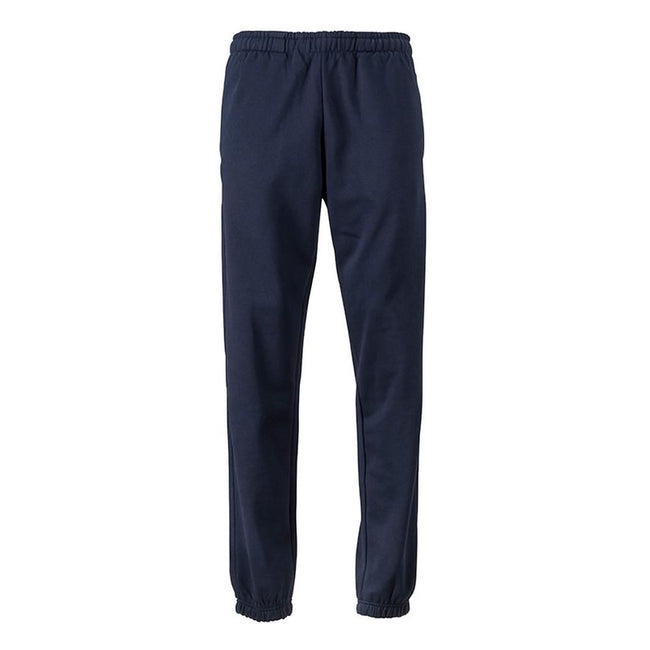 Navy - Front - James and Nicholson Mens Jogging Pants
