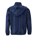 Navy - Back - James and Nicholson Mens Promo Jacket