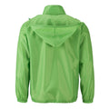 Spring Green - Back - James and Nicholson Mens Promo Jacket