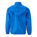 Bright Blue - Back - James and Nicholson Mens Promo Jacket