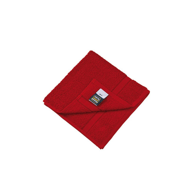 Orient Red - Front - Myrtle Beach Hand Towel