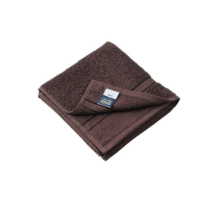 Chocolate Brown - Front - Myrtle Beach Hand Towel