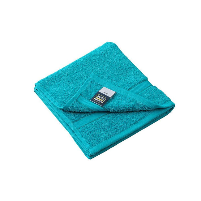 Lagoon Blue - Front - Myrtle Beach Hand Towel