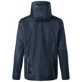 Navy-Silver - Back - James and Nicholson Mens 3-in-1 Jacket