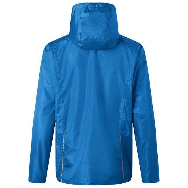 Royal Blue-Black - Back - James and Nicholson Mens 3-in-1 Jacket