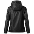 Black-Black - Back - James and Nicholson Mens 3-in-1 Jacket