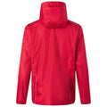 Red-Black - Back - James and Nicholson Mens 3-in-1 Jacket