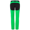 Fern Green-Black - Back - James and Nicholson Mens Trekking Pants
