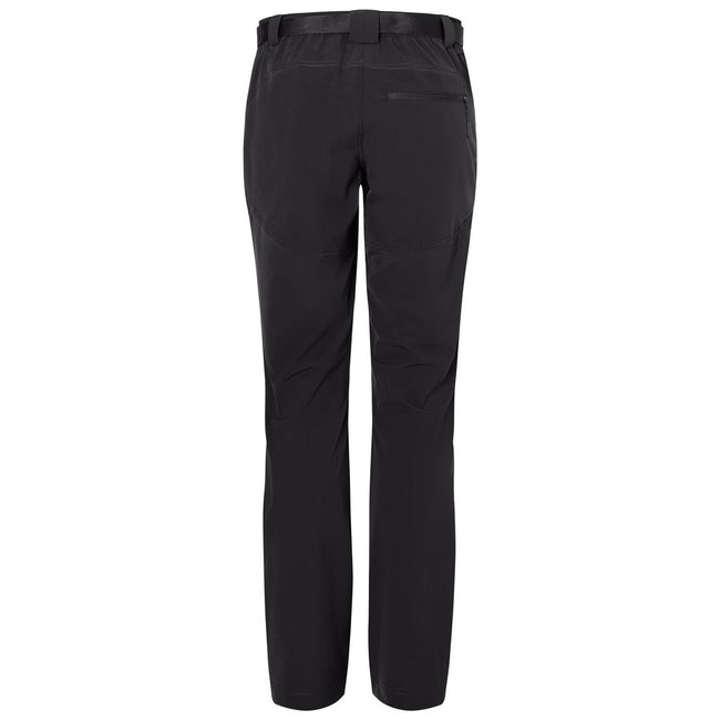 Black-Black - Back - James and Nicholson Mens Trekking Pants