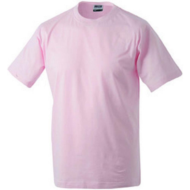 Rose - Front - James and Nicholson Unisex Medium Round Tee