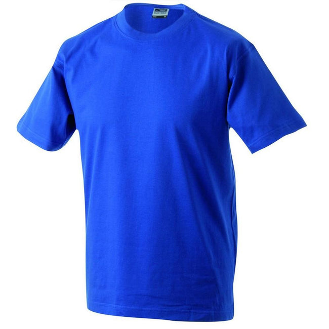 Royal Blue - Front - James and Nicholson Unisex Heavy Round Tee