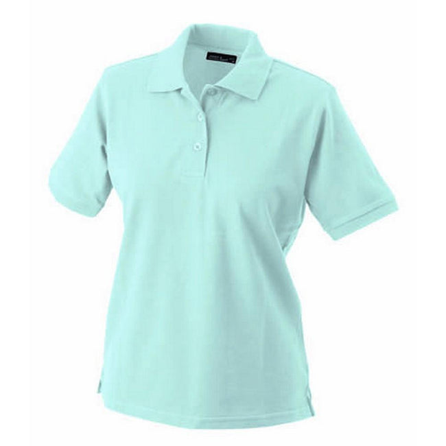 Light Blue - Front - James and Nicholson Womens-Ladies Classic Polo