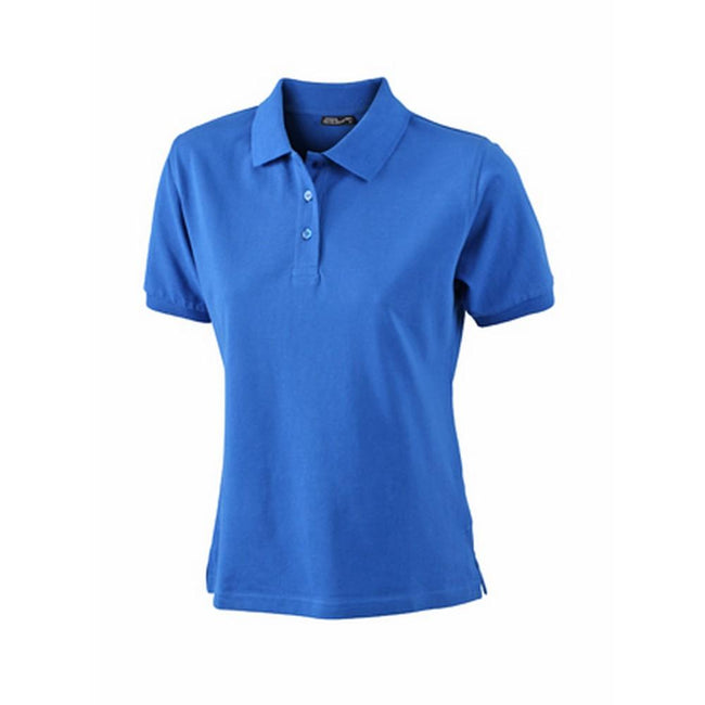 Royal Blue - Front - James and Nicholson Womens-Ladies Classic Polo