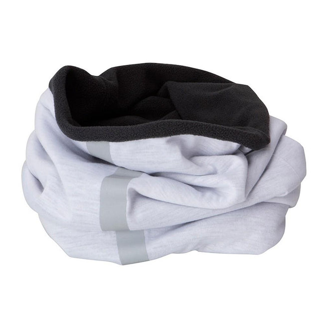 White-Carbon Grey - Front - Myrtle Beach Adults Unisex Winter X-Tube Snood
