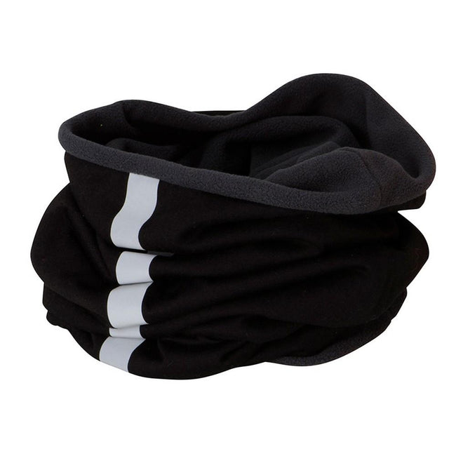 Black-Carbon Grey - Front - Myrtle Beach Adults Unisex Winter X-Tube Snood