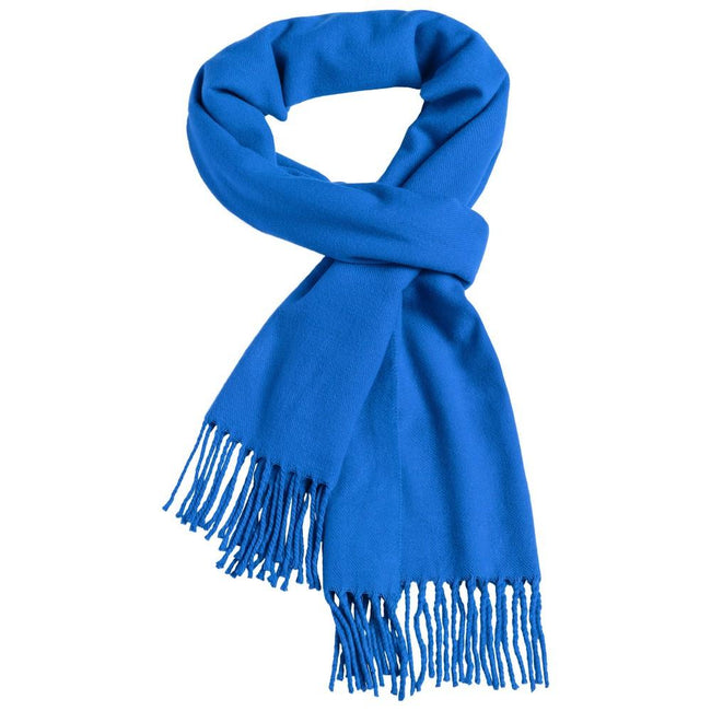 Royal Blue - Front - Myrtle Beach Adults Unisex Elegant Scarf