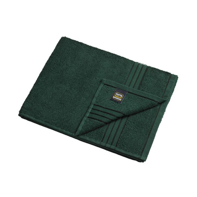 Dark Green - Front - Myrtle Beach Basic Hand Towel (Pack of 2)