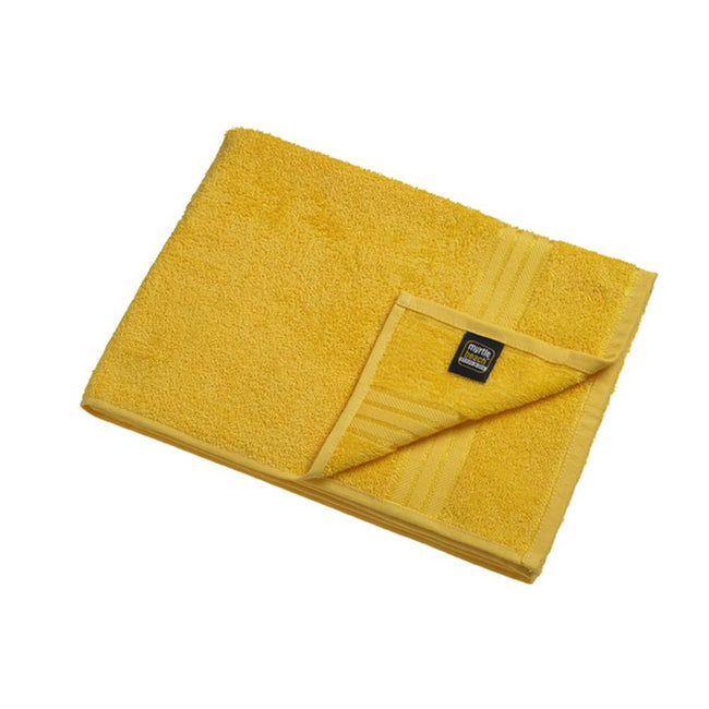Gold Yellow - Front - Myrtle Beach Basic Hand Towel (Pack of 2)