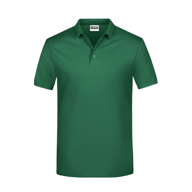 Irish Green - Front - James And Nicholson Mens Basic Polo Shirt