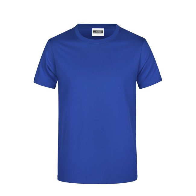 Dark Royal - Front - James And Nicholson Mens Basic T-Shirt