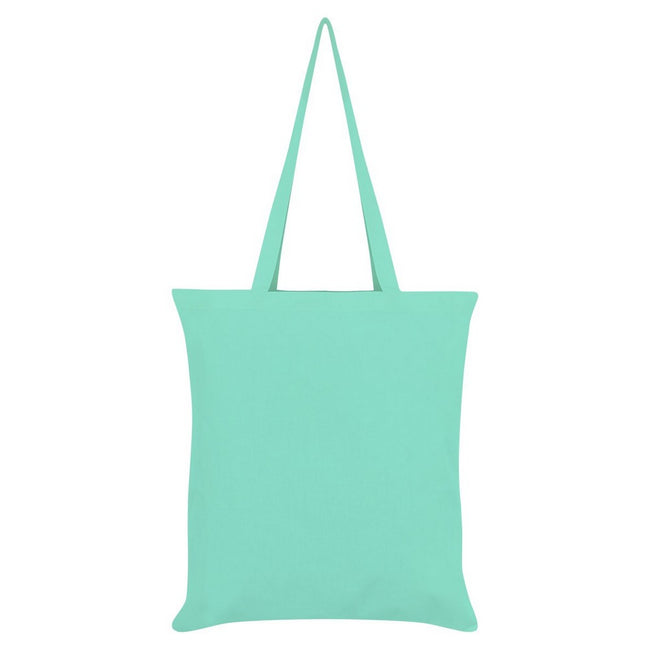 Mint - Back - Inquisitive Creatures Sloth Tote Bag