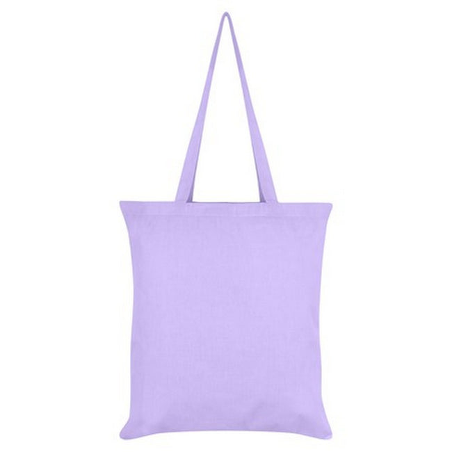 Lilac - Side - Inquisitive Creatures Owl Tote Bag