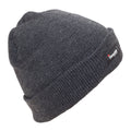 Grey - Front - FLOSO Kids-Childrens Knitted Winter-Ski Hat With Thinsulate Lining (3M 40g)