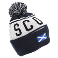 Navy - Front - Devoted2style Adults Unisex Scotland Winter Hat