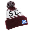 Maroon - Front - Devoted2style Adults Unisex Scotland Winter Hat