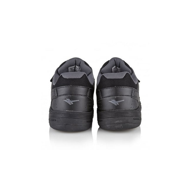 Black - Lifestyle - Gola Mens Belmont WF Wide Fit Trainers