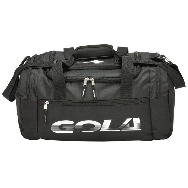 Black-White - Front - Gola Unisex Adults Osker 2 Small Sports Holdall
