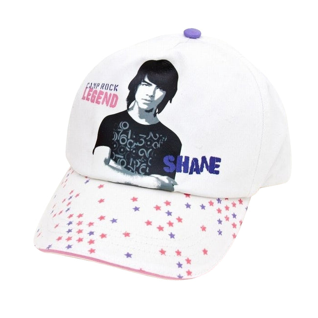 White - Front - Clearance - Childrens-Kids Camp Rock Cap