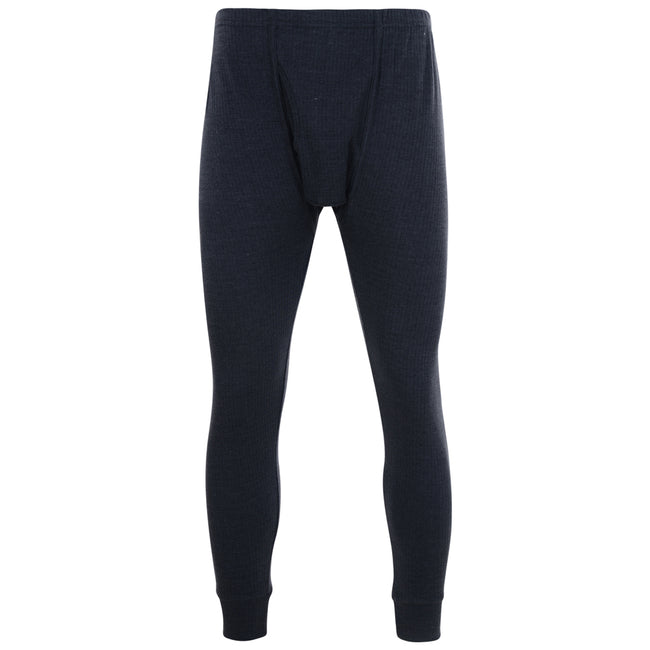 Charcoal - Front - Kam Jeanswear Mens Thermal Long Johns
