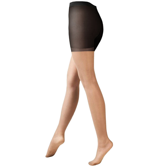 Natural - Front - Cindy Womens-Ladies 15 Denier Sheer Tights (1 Pair)