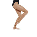 Toast - Back - Silky Womens-Ladies Dance Shimmer Stirrup Tights (1 Pair)