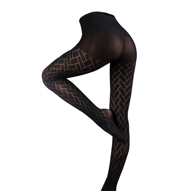 Barely Black - Charlotte - Back - Couture Womens-Ladies Ultimates Tights (1 Pair)