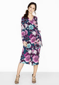 Floral - Pack Shot - Paper Dolls Womens-Ladies Paxton Wrap Dress