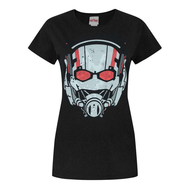 Black - Front - Marvel Womens-Ladies Ant-Man T-Shirt