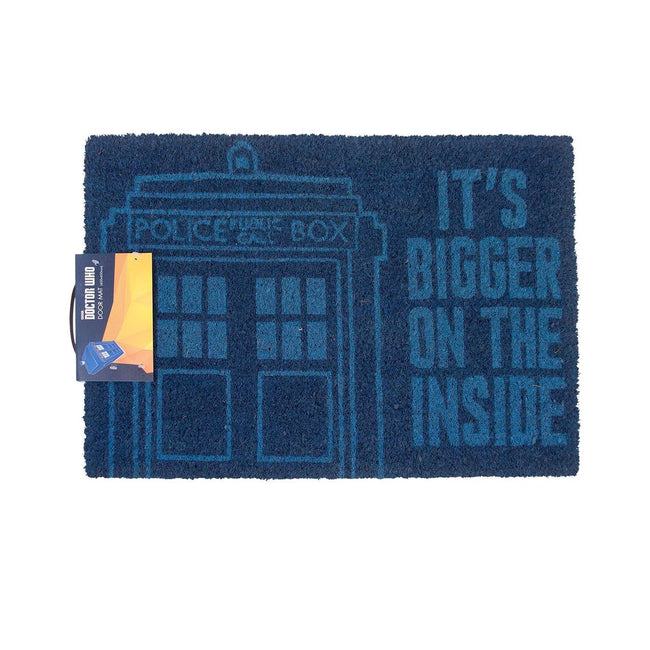 Blue - Front - Doctor Who Door Mat