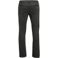 Charcoal - Back - SOLS Mens Jules Chino Trousers